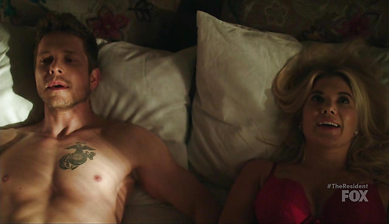 Matt Czuchry sexy shirtless scene March 13, 2018, 12pm