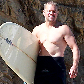 Matt Damon latest sexy shirtless August 13, 2020, 9am