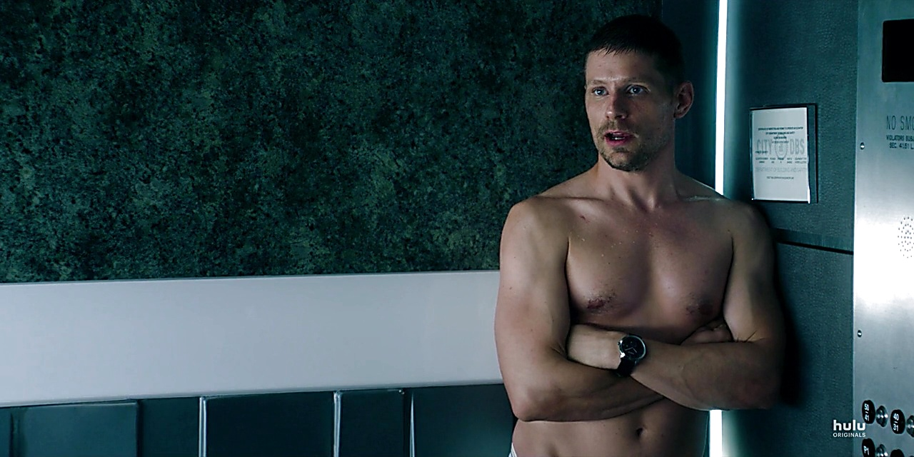 Matt Lauria sexy shirtless scene February 3, 2019, 8am