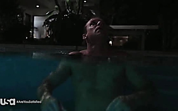 Matt Passmore sexy shirtless scene August 4, 2014, 1pm