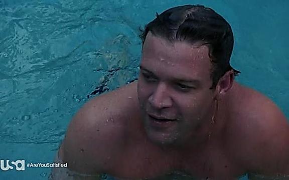 Matt Passmore sexy shirtless scene September 1, 2014, 1pm