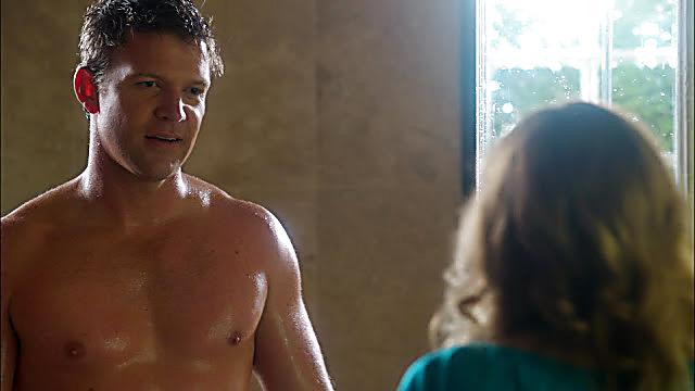 Matt Passmore sexy shirtless scene December 28, 2020, 1pm