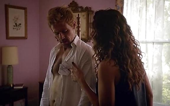 Matt Ryan sexy shirtless scene November 4, 2014, 7pm