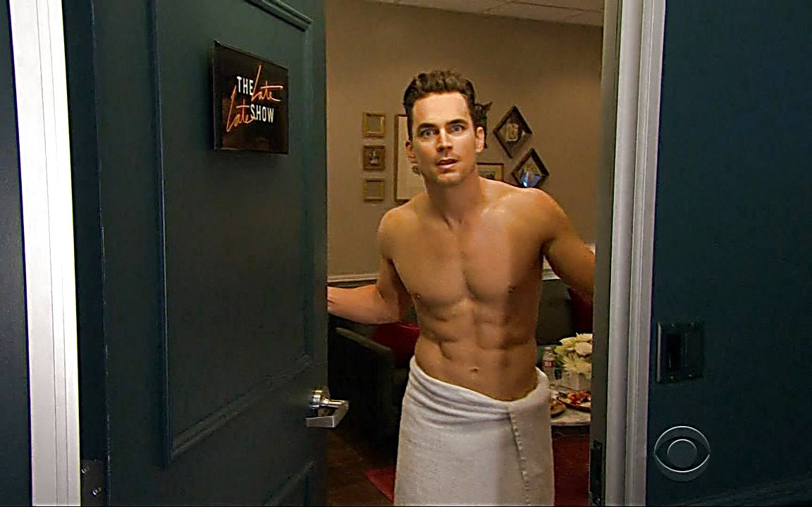 Matt Bomer sexy shirtless scene October 18, 2015, 3am