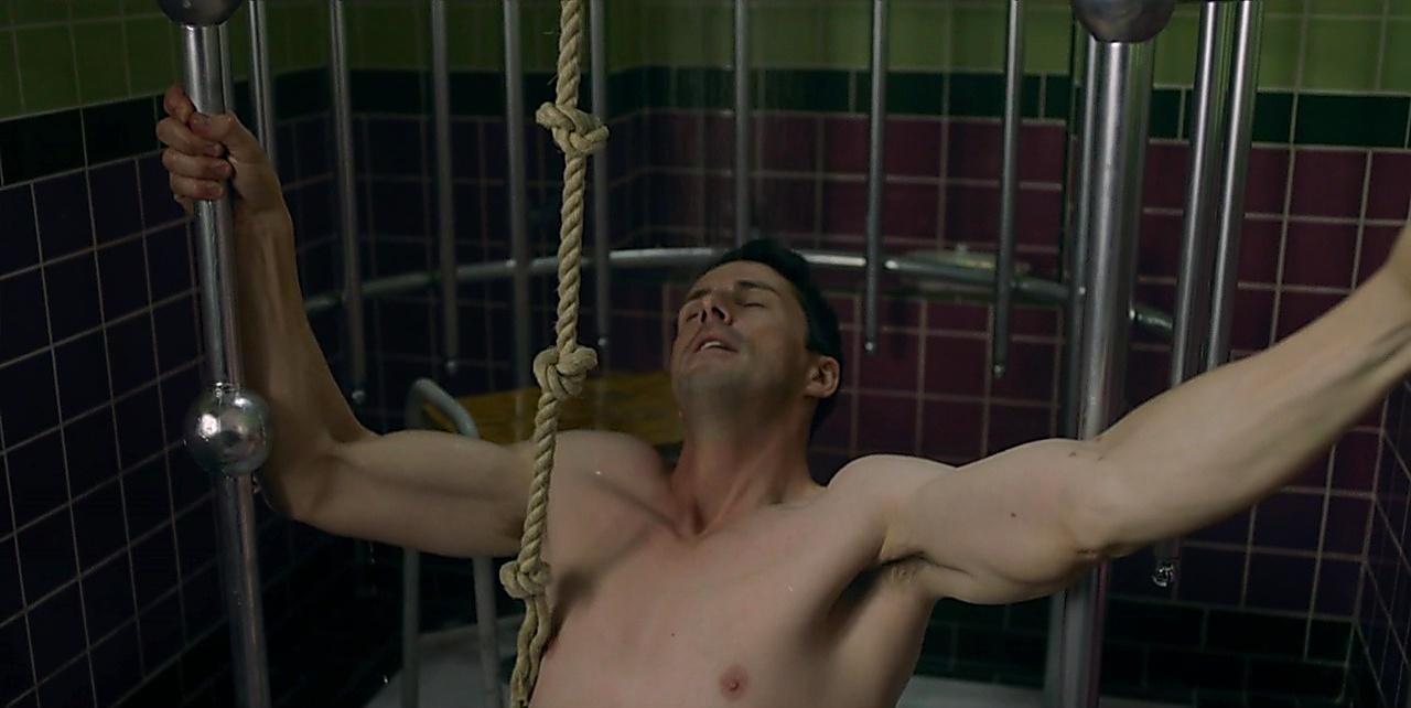 Matthew Goode sexy shirtless scene April 9, 2018, 3pm