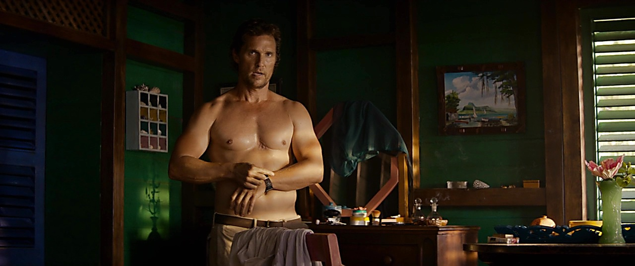 Matthew Mcconaughey latest sexy shirtless scene February 19, 2019, 10am