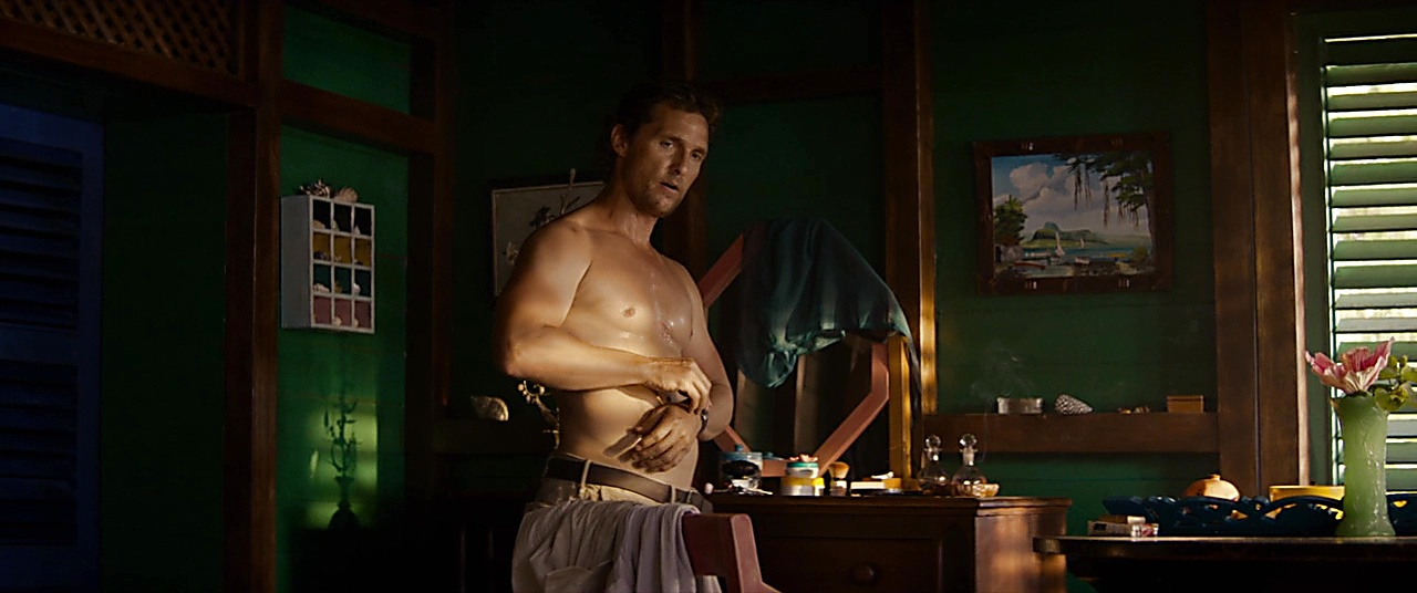 Matthew Mcconaughey sexy shirtless scene February 19, 2019, 10am