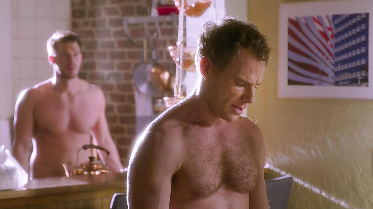 Matthew Wilkas sexy shirtless scene January 11, 2020, 9am