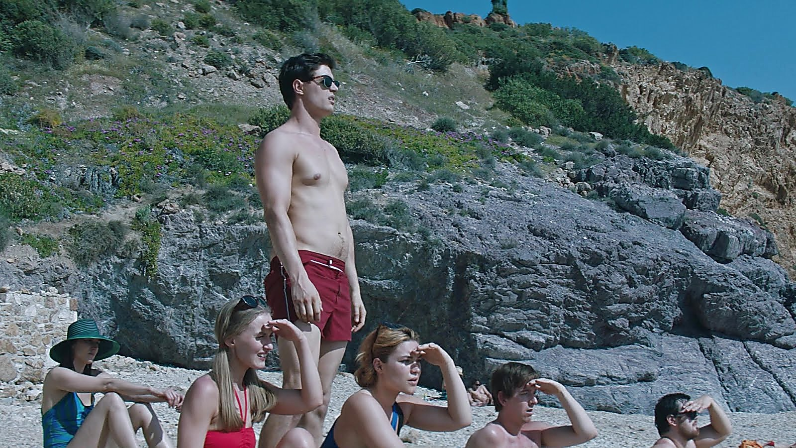 Max Irons sexy shirtless scene October 29, 2018, 6am