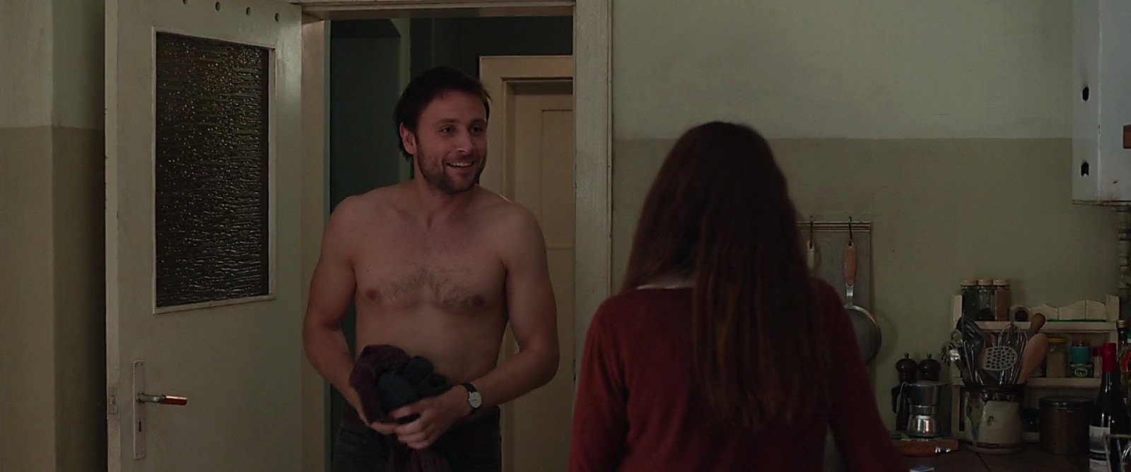 Max Riemelt sexy shirtless scene May 27, 2017, 4am