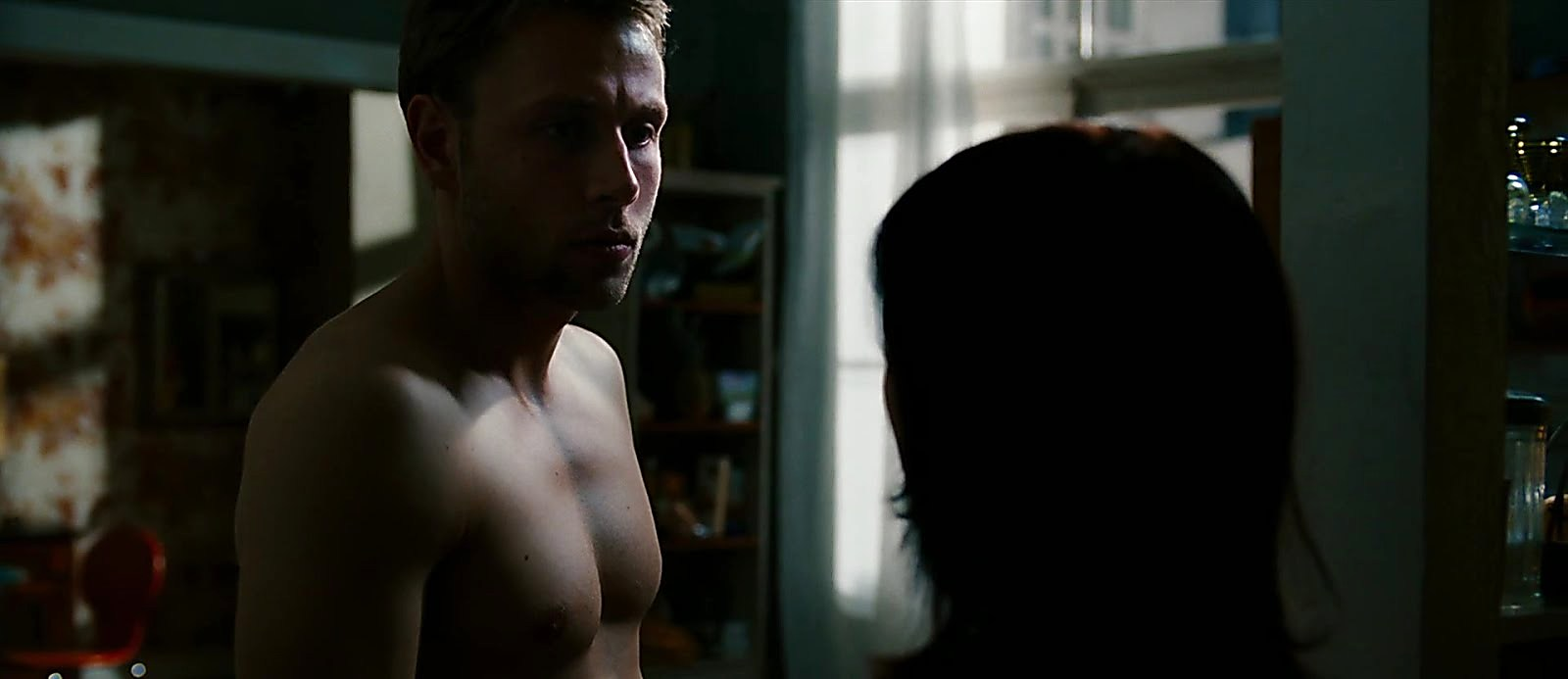Max Riemelt sexy shirtless scene October 23, 2017, 1pm