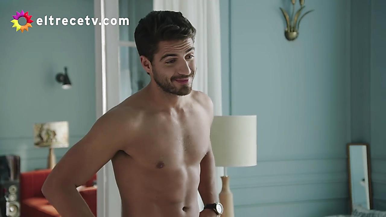 Maxi Iglesias sexy shirtless scene January 28, 2020, 1pm