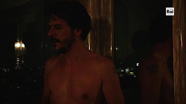 Mehmet Gunsur sexy shirtless scene April 26, 2021, 1pm