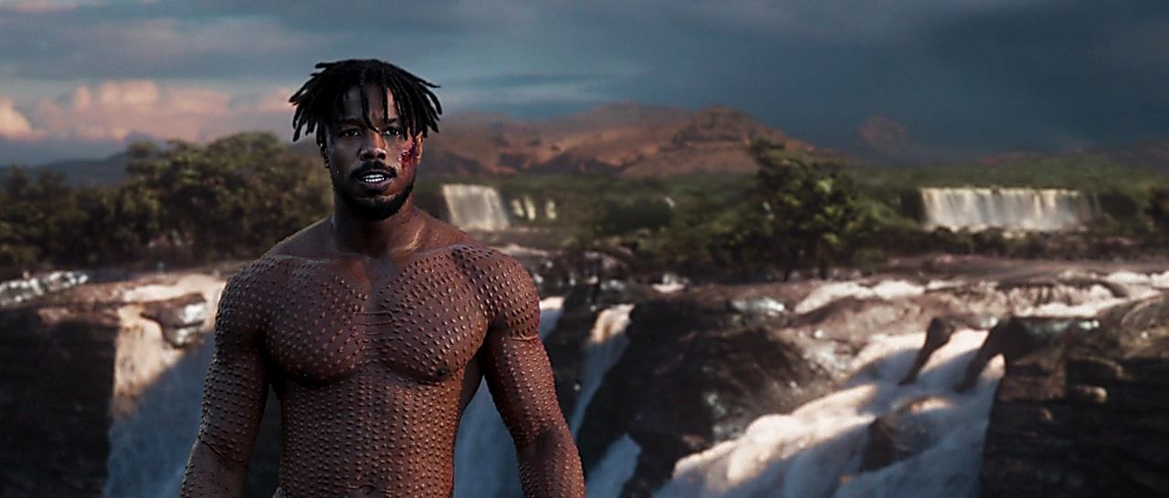 Michael B Jordan Black Panther 2018 05 03 1