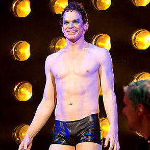 Michael C Hall latest sexy shirtless October 30, 2014, 12pm
