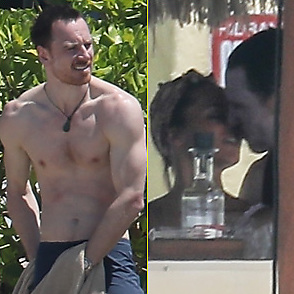 Michael Fassbender latest sexy shirtless April 3, 2018, 5pm