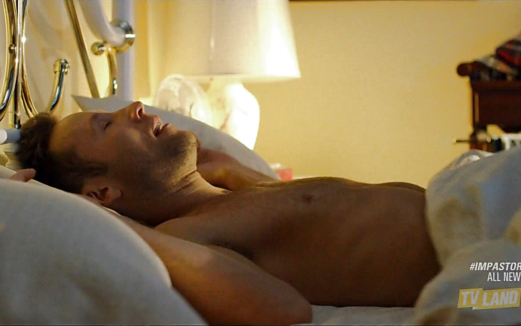 Michael Rosenbaum sexy shirtless scene August 2, 2015, 10pm