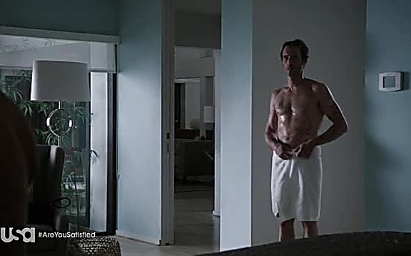 Michael Vartan sexy shirtless scene September 1, 2014, 1pm