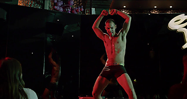 Michel Duval sexy shirtless scene February 26, 2021, 7am