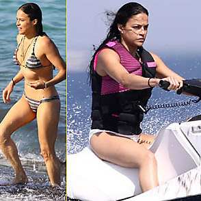 Michelle Rodriguez latest sexy shirtless July 9, 2017, 1pm