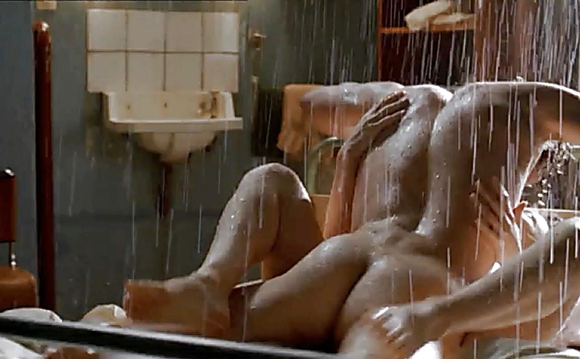 Mobile sex scene shower
