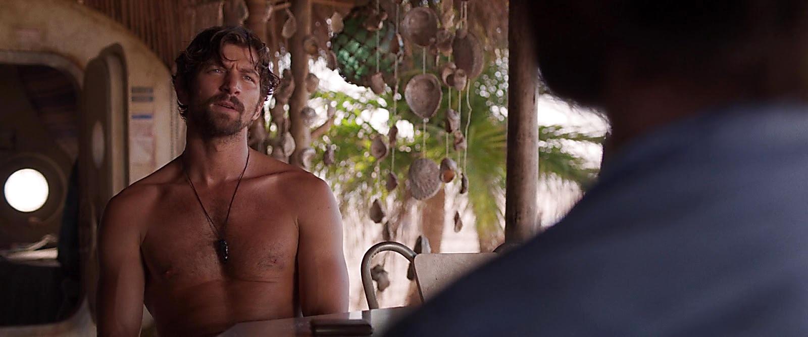 Michiel Huisman sexy shirtless scene July 31, 2019, 3pm