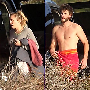 Miley Cyrus latest sexy shirtless February 7, 2018, 11pm