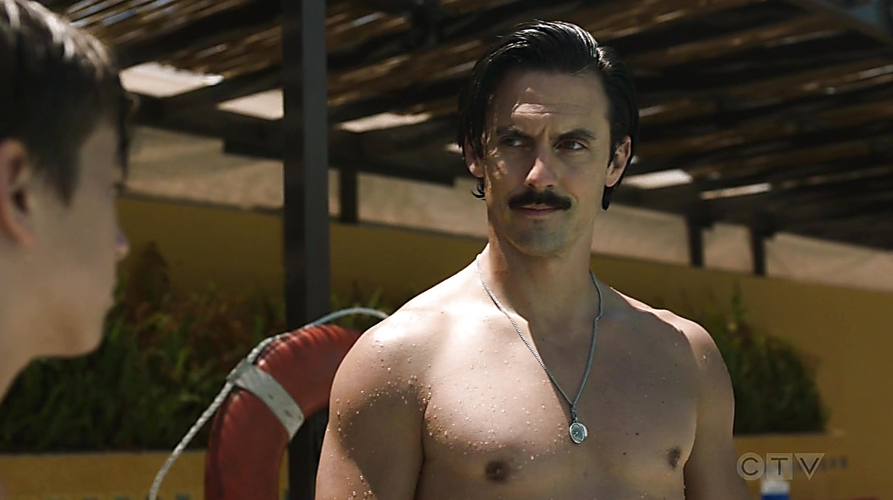 Milo Ventimiglia sexy shirtless scene October 4, 2019, 8am