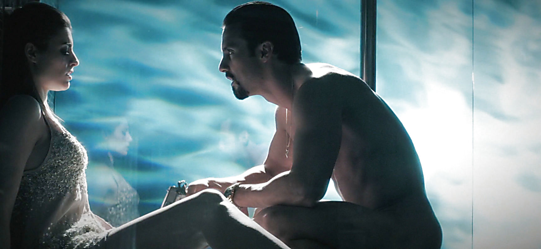 Milo Ventimiglia sexy shirtless scene February 22, 2015, 3pm
