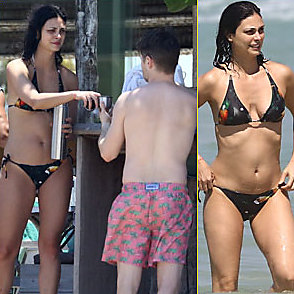Morena Baccarin latest sexy shirtless February 4, 2019, 4pm