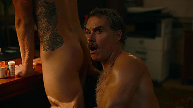 Murray Bartlett sexy shirtless scene August 2, 2021, 6am