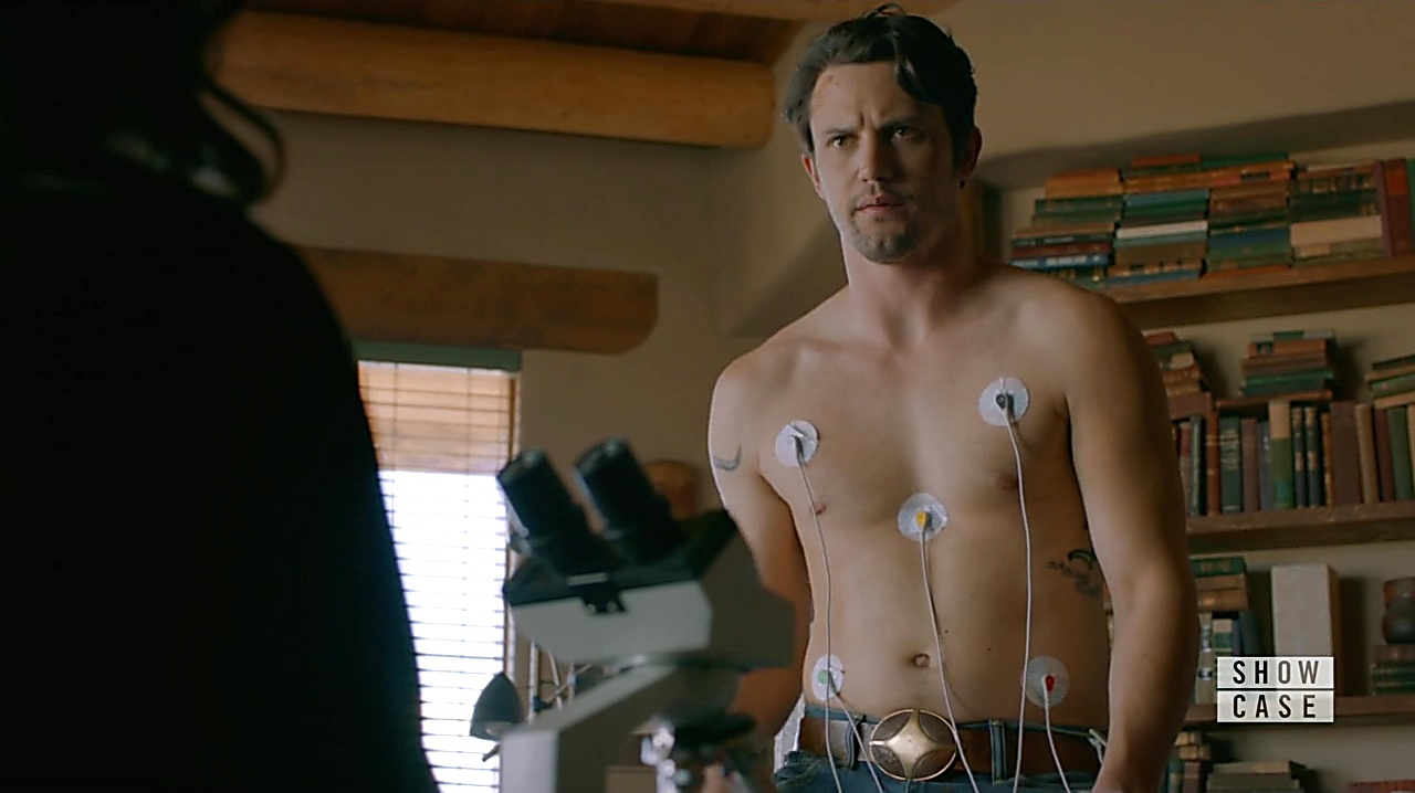 Nathan Parsons sexy shirtless scene January 30, 2019, 10am