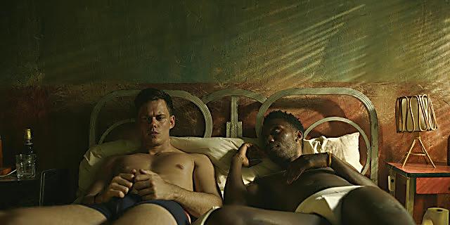 Nathan Stewart Jarrett sexy shirtless scene October 24, 2020, 7am