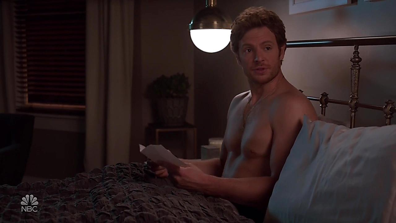 Nick Gehlfuss sexy shirtless scene October 25, 2018, 10am