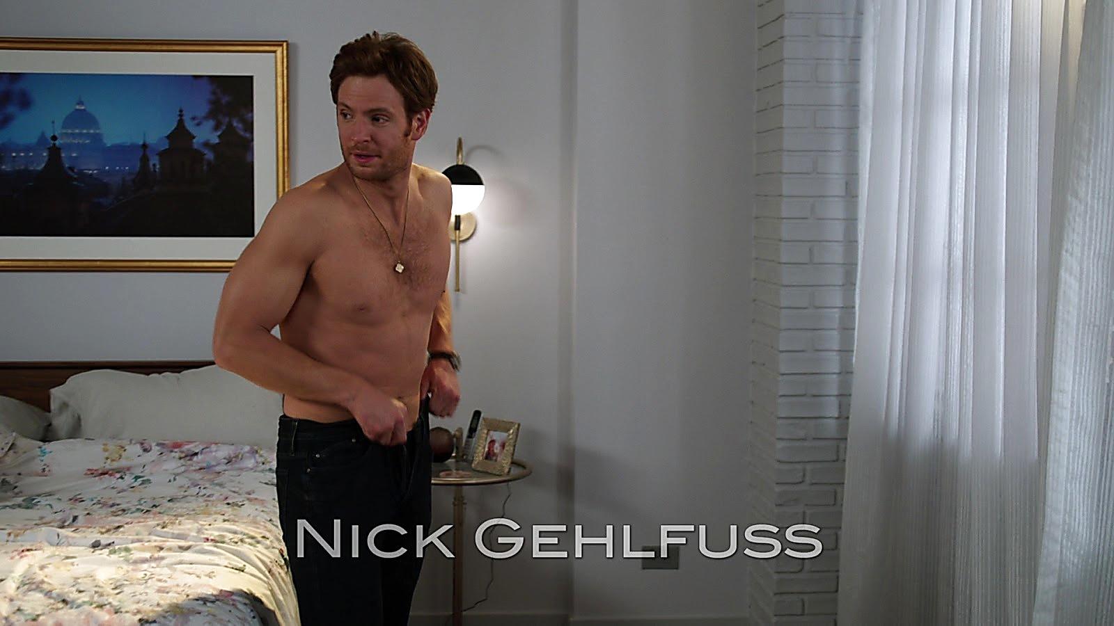 Nick Gehlfuss sexy shirtless scene April 13, 2020, 12pm