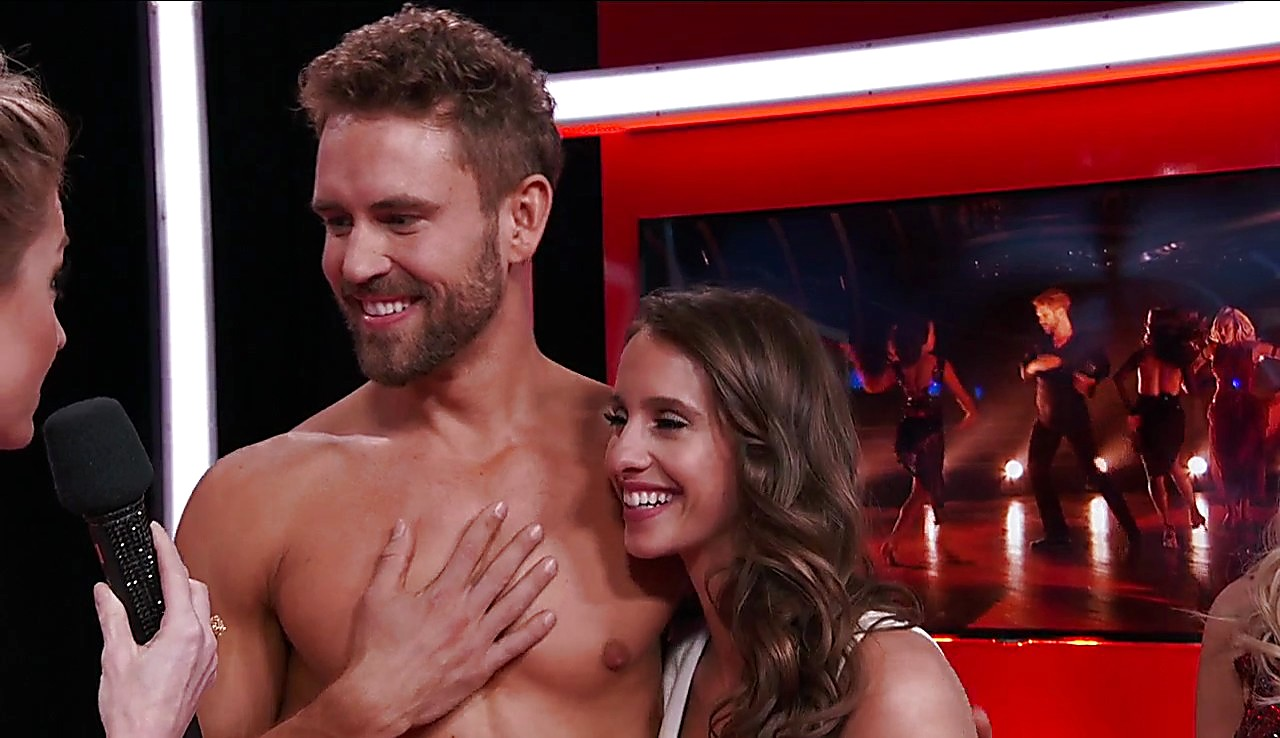 Nick Viall sexy shirtless scene April 12, 2017, 12pm