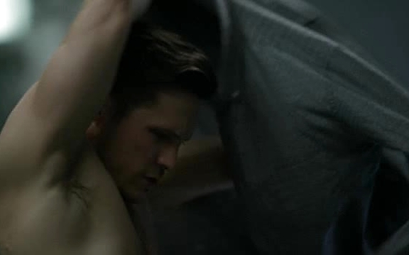 Nick Wechsler sexy shirtless scene October 19, 2014, 10pm