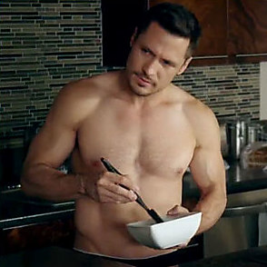 Nick Wechsler latest sexy shirtless October 16, 2015, 6pm