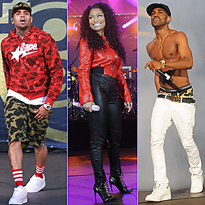 Nicki Minaj latest sexy shirtless June 8, 2015, 9pm