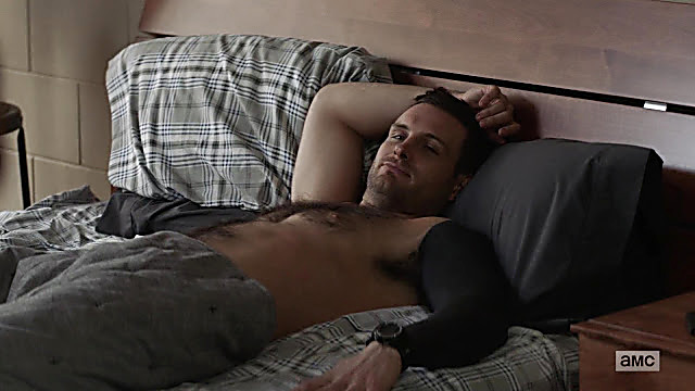 Nico Tortorella sexy shirtless scene November 28, 2020, 10am