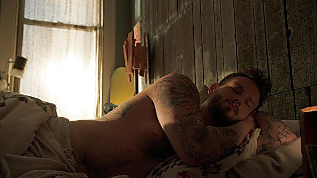 Nico Tortorella sexy shirtless scene April 15, 2021, 3am