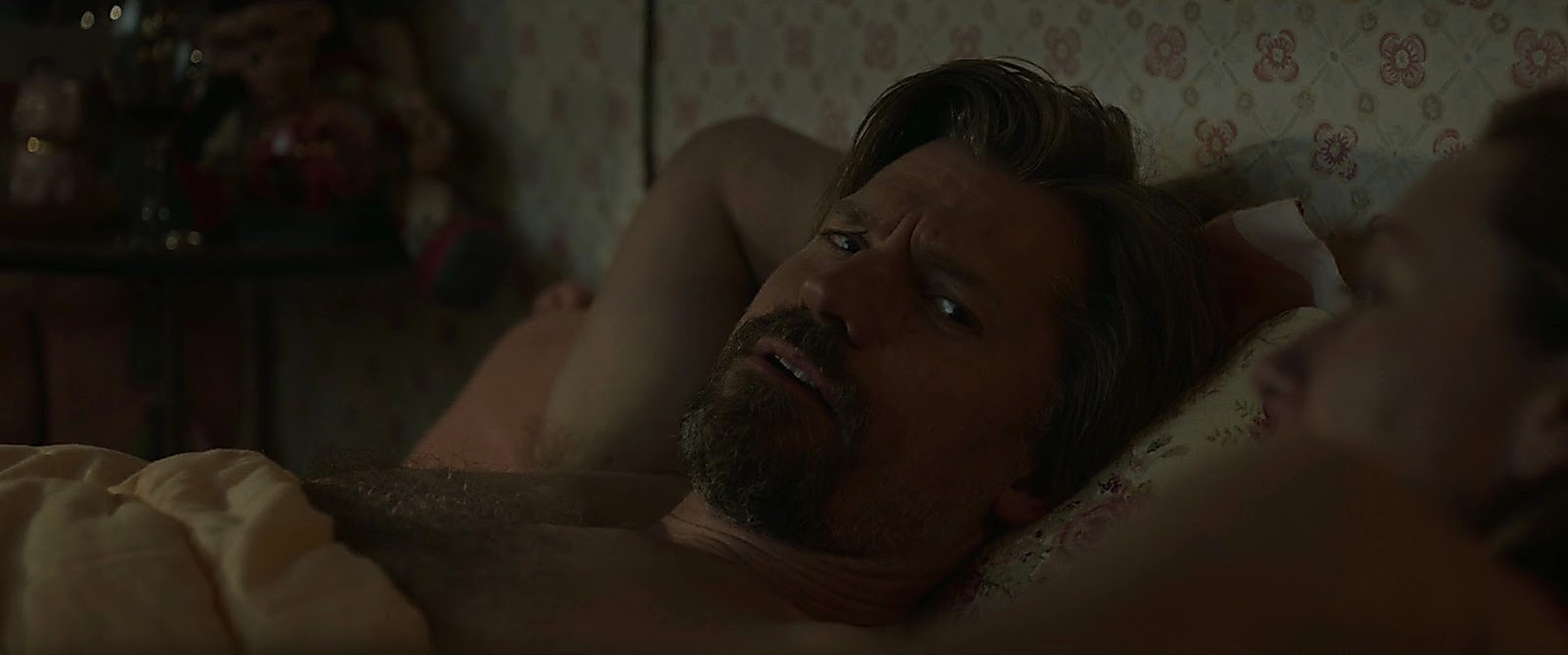 Nikolaj Coster Waldau sexy shirtless scene April 30, 2017, 1pm