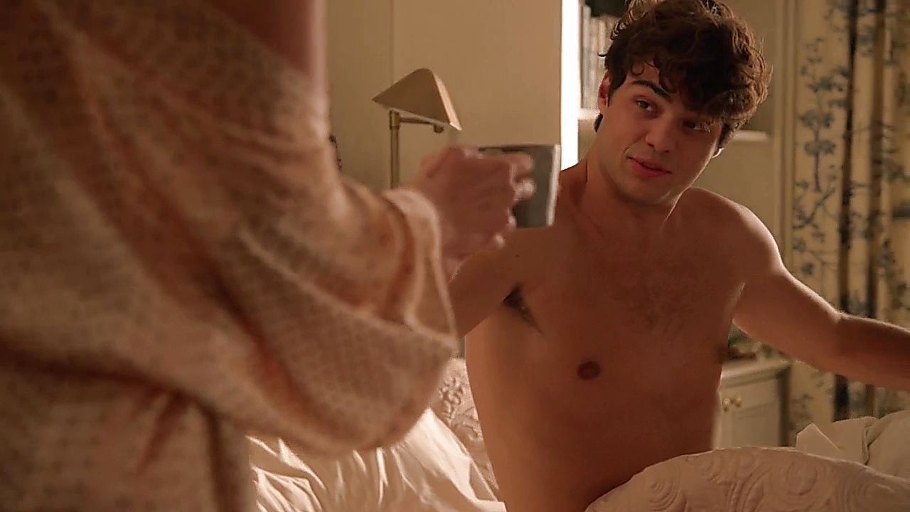 Noah Centineo sexy shirtless scene February 27, 2019, 10am