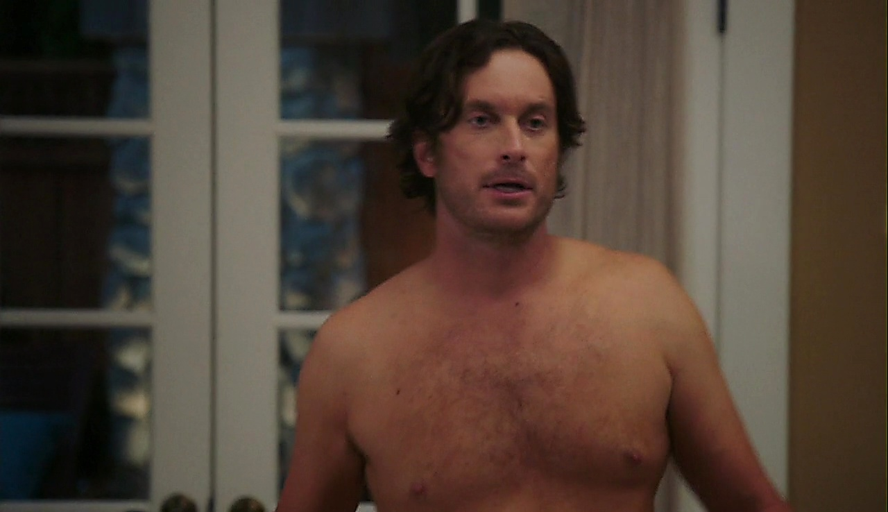Oliver Hudson sexy shirtless scene April 11, 2018, 12pm