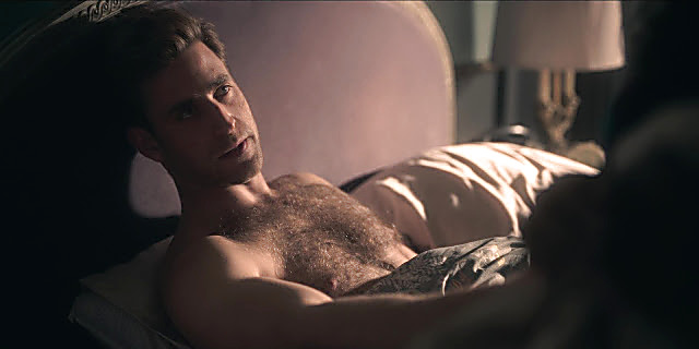 Oliver Jackson Cohen sexy shirtless scene October 10, 2020, 4pm