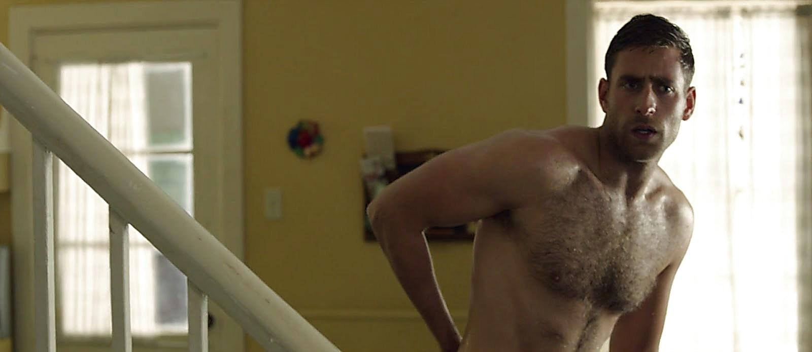 Oliver Jackson Cohen sexy shirtless scene October 28, 2017, 9am