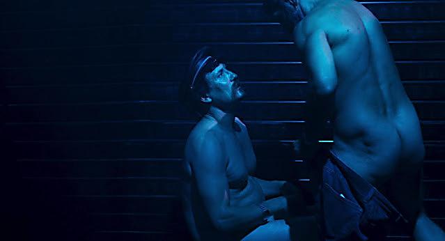 Oliver Masucci sexy shirtless scene September 12, 2021, 10am