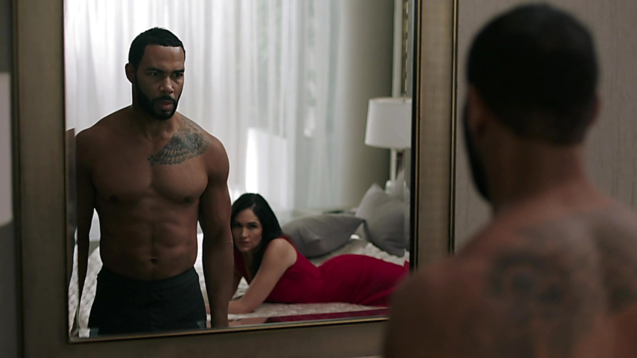 Omari Hardwick sexy shirtless scene September 15, 2019, 1pm