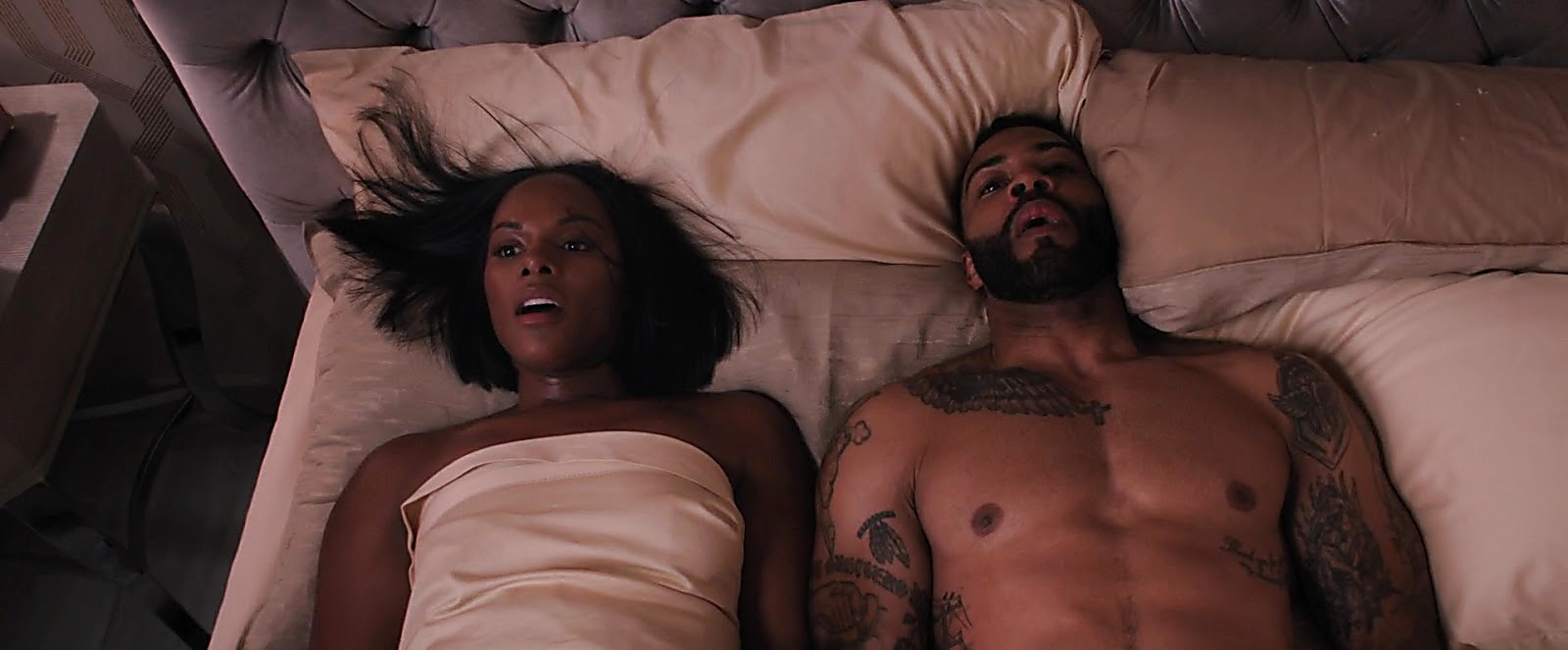 Omari Hardwick sexy shirtless scene January 30, 2019, 10am