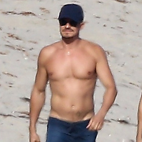 Orlando Bloom latest sexy shirtless September 1, 2018, 12pm